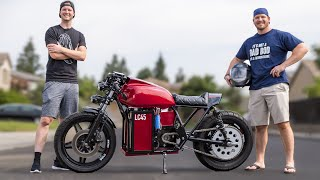 We Built a Street–Legal Electric Motorcycle for $4,000 (PARTS LIST)