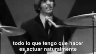 the Beatles - Act Naturally (Subtitulado al Español)