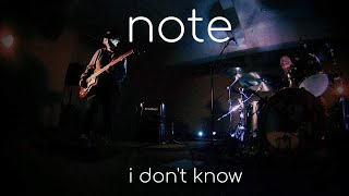 Note - I Don't Know - Music Video Teaser 2 - FPV Drone Version