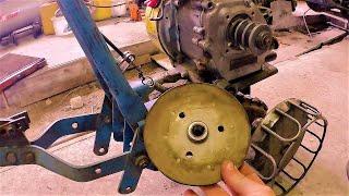 Шкив для мотокультиватора Крот на вал 19 мм