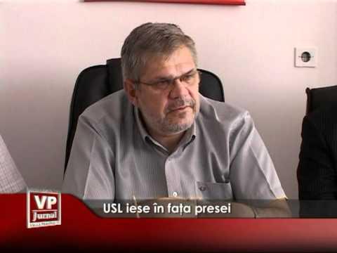 USL iese în faţa presei