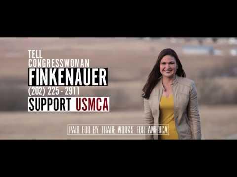 Tell Representative Abby Finkenaur to Vote YES on the USMCA