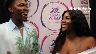 Lucky Daye on Experiencing His First Essence Fest (Part 2)