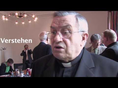 Eröffnung der Stiftungsprofessur 2009: Karl Kardinal Lehmann