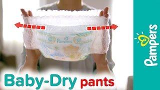 Pampers Baby-Dry Pants: So wird Windelwechseln zum Kinderspiel