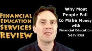financial education services compensation plan