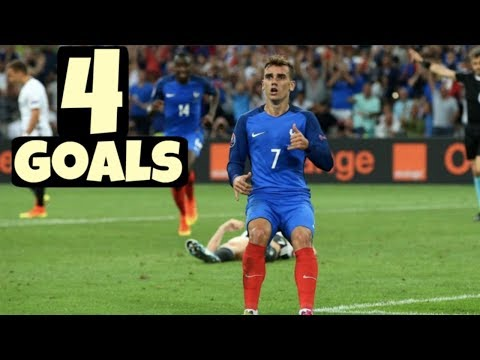 Antoine Griezmann ● All 4 Goals scored for France - World Cup 2018