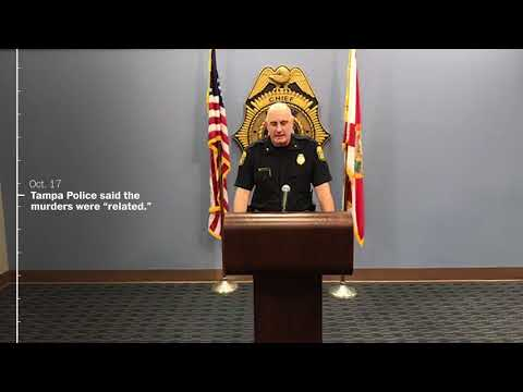 Timeline of the possible Tampa Bay serial killer