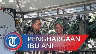 Ani Yudhoyono Dianugerahan Biodiversity atas Dedikasi terhadap Lingkungan dan Tanaman