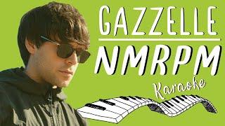 🎹 GAZZELLE   Nmrpm KARAOKE🎤 (Piano Instrumental)