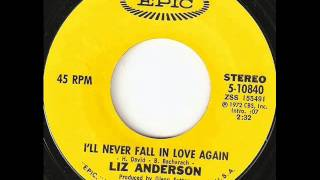 "Liz Anderson ""I'll Never Fall In Love Again"""