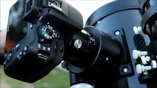 How to Attach and Focus a Canon EOS DSLR (APS-C) to the Explore Scientifc David H. Levy Comet Hunter