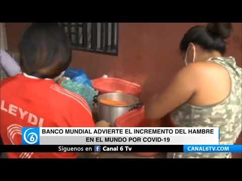 Banco Mundial advierte el incremento del hambre en el mundo por COVID-19