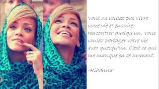 Rihanna French Quotes
