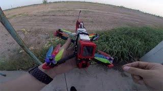 #fpv DALPROP 折叠桨 户外飞行测试 激动人心的时刻