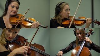 Innovative String Queens quartet recording 'Eternal Dream'