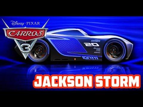 Carros 3 - Jackson Storm (Apresentação nova personagem)