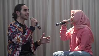 Gambar cover Fatin ft. Isaiah Scared to Be Lonely (Martin Garrix, Dua Lipa Cover)