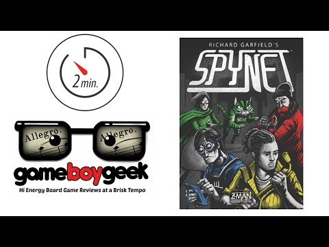 The Game Boy Geek's Allegro (2-min Review) of Spynet