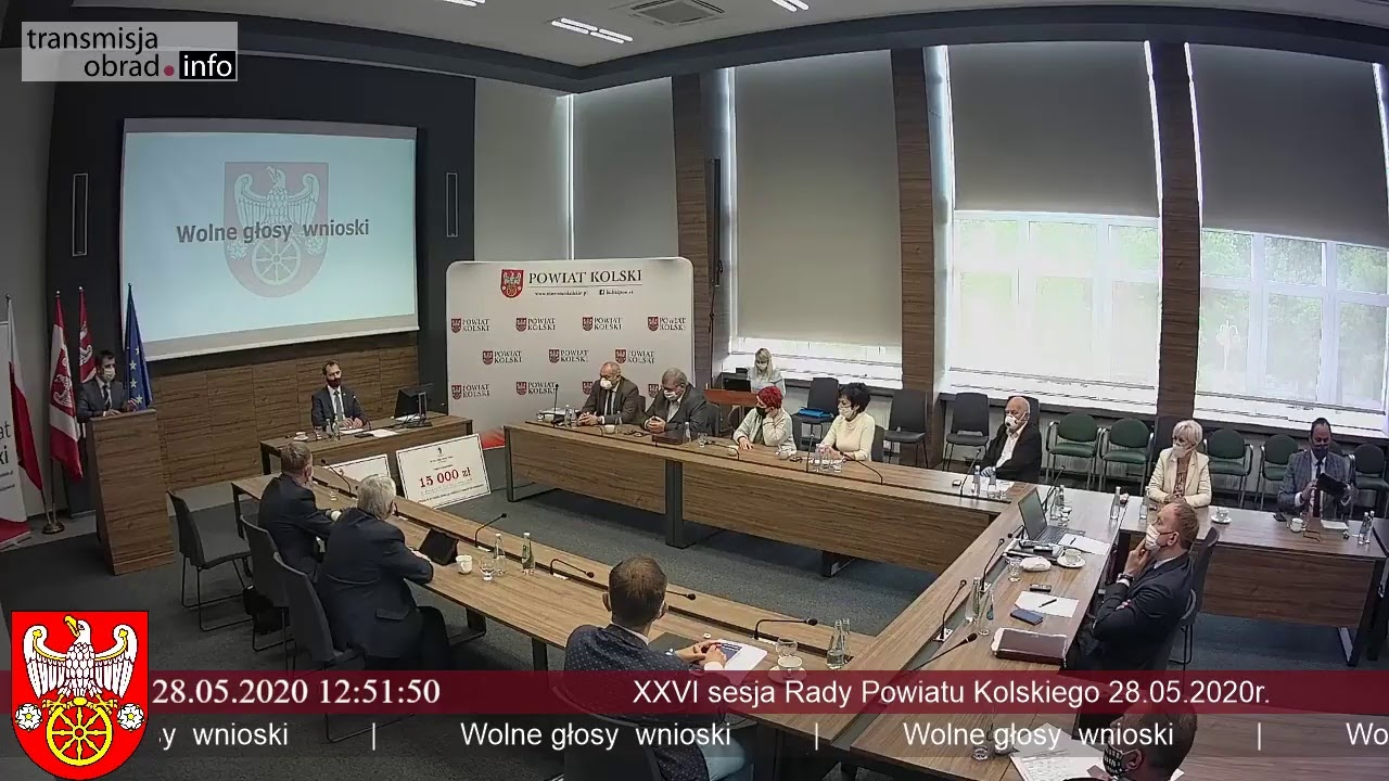Zdjęcie do XXVI sesja Rady Powiatu Kolskiego