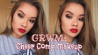 GRWM: CHEER COMPETITION MAKEUP