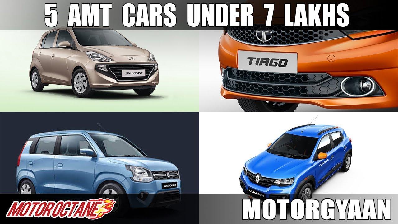 Motoroctane Youtube Video - Top 5 AMT cars under 7 Lakhs | MotorOctane