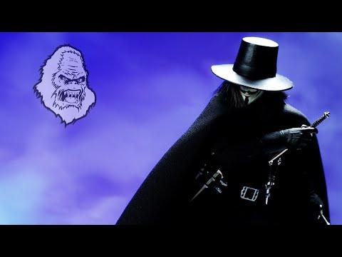 "BulletHead ""V Mask"" V for Vendetta Action Figure Review"