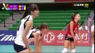 SABINA ALTYNBEKOVA, beautiful women volleyball player kazakhstan 2014