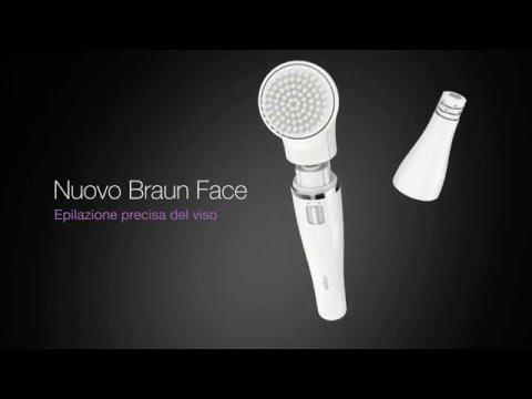 BRAUNFace 830  miniepilatore + spazzola visoArgento