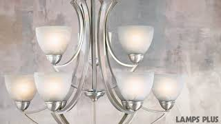 Possini Euro Design Milbury Nine Light Chandelier