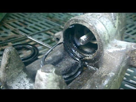 Переборка заднего суппорта Audi, VW, Skoda   Ремонт заклинившего тормозного суппорта LUCAS