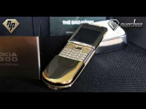 Trên tay Nokia 8800 Siroco Gold