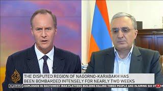 "Interview of the Foreign Minister of Armenia Zohrab Mnatsakanyan to ""Al-Jazeera"""