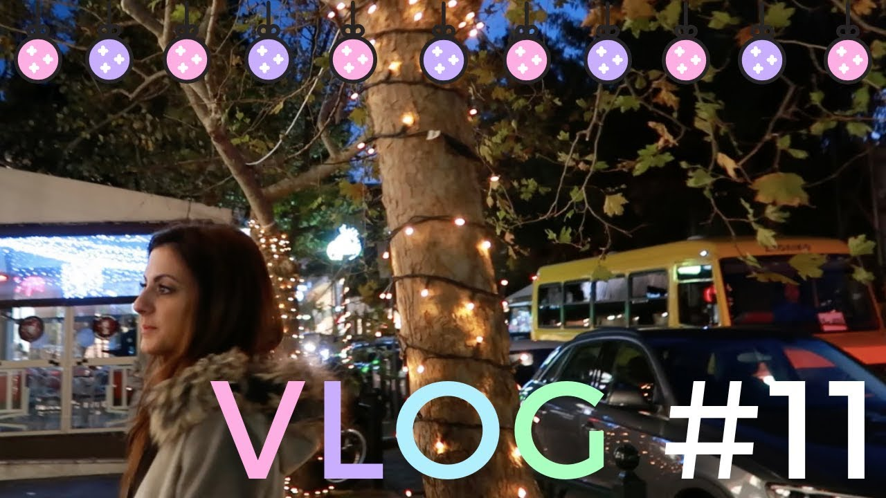 Vlog #11 |  Christmas Meetings & Feeding Stray Cats - Layla at Sprinkles of Style