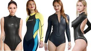 Sexy Rash Guard Wetsuit for Women