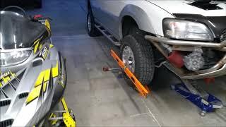 DIY alignment using 4 foot levels