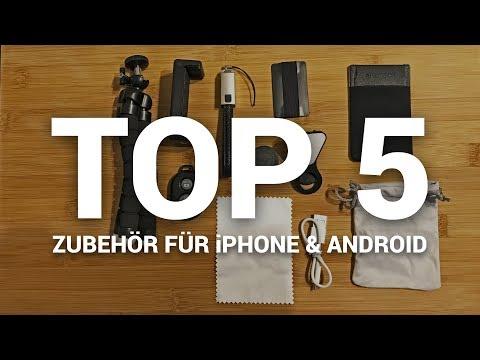 TOP 5 nützliches & günstiges Zubehör fürs Smartphone (iPhone & Android) - 2017/2018