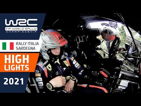 WRC 2021 第5戦ラリー・イタリア SS9-12ハイライト動画