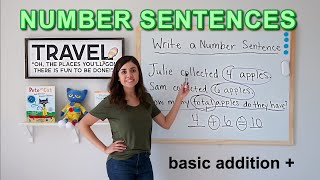 How to Write Number Sentences
