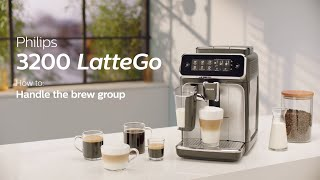 Philips Series 3200 LatteGo EP3246/70 Automatic Coffee Machine - How to Clean and Maintain