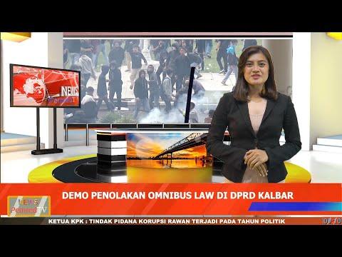 Demo Tolak Omnibus Law di Pontianak Berlangsung Ricuh