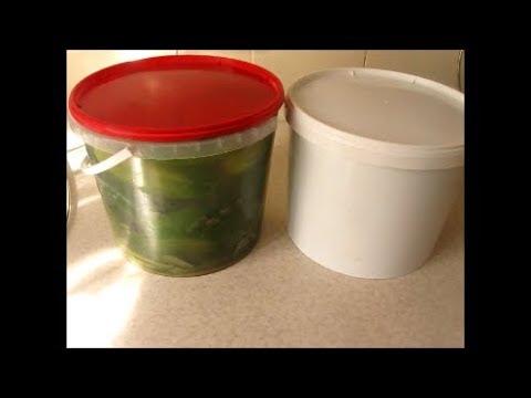 Хрустящие огурчики на зиму с горчичным порошком  Cucumbers for winter with mustard powder
