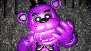 Five Nights at Freddy's 1 3D Free Roam || Purple Freddy ENDING (UE4)