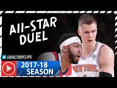 Anthony Davis vs Kristaps Porzingis ALL-STAR Duel Highlights (2018.01.14) Pelicans vs Knicks – CRAZY