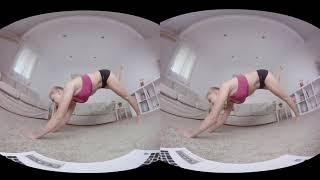 ДЕВУШКИ ЗАНИМАЮТСЯ ЙОГОЙ - Смотреть VR очках SBS VR Video (Google Cardboard, Oculus Rift, VR Box 3D)