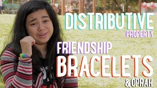Distributive Property | Friendship Bracelets & Oprah | PBSMathClub