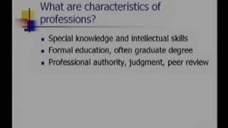 Engineering Ethics 101: Professionalism
