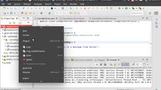 How To Create A Simple JAVA EJB App Using Eclipse and Wildfly 10 easily.