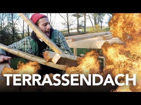 TERASSENDACH bauen - Heimwerkerking Fynn Kliemann