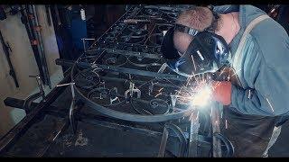 Making A Wrought Iron Garden Gate